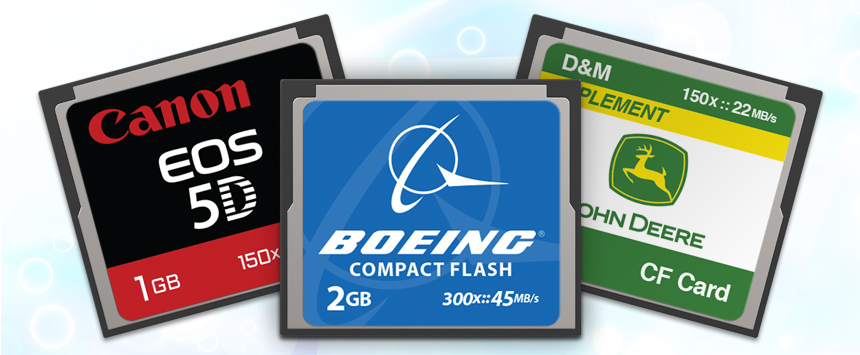 CompactFlash   CustomUSB Flash Memory Card