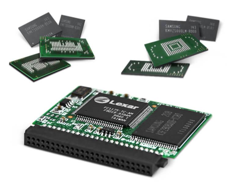 Industrial Grade Memory Components