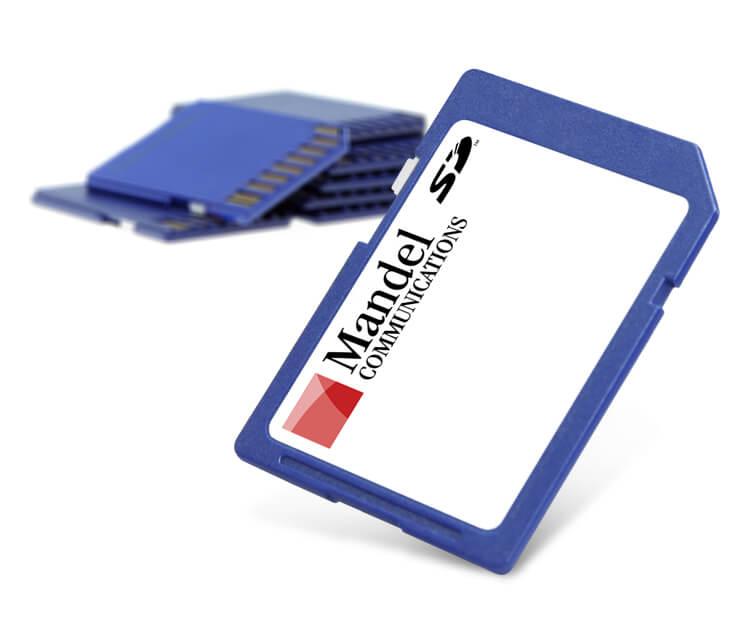 Mandel Communications SD Cards