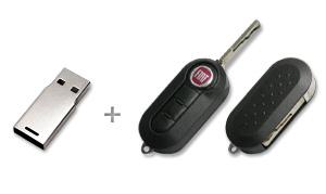 CustomUSB | Fiat Flip Key - Design Concept