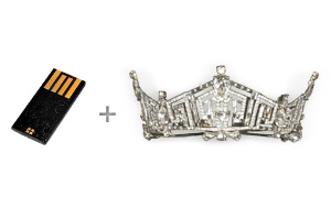 CustomUSB | Miss America Crown - Design Concept
