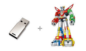 CustomUSB | Voltron™ Incubot - Design Concept