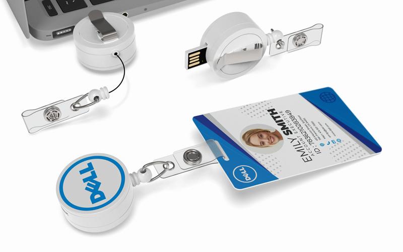Badge Reel | CustomUSB Flash Drive
