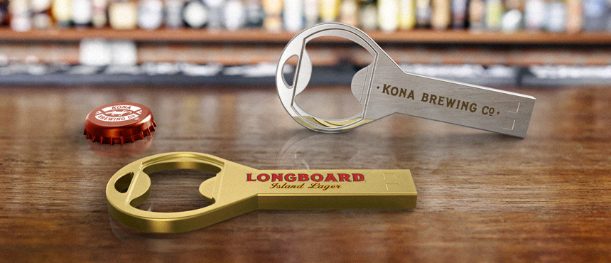 Bottle Opener | CustomUSB Flash Drive