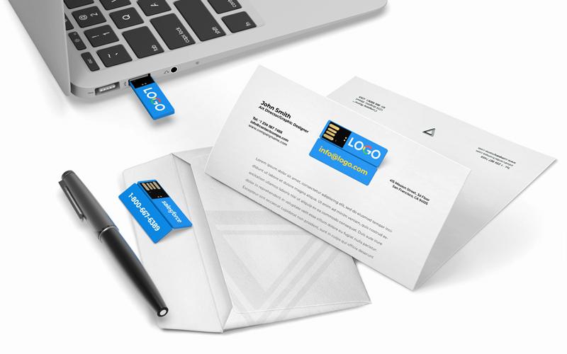 FoldIT™ | Custom USB Flash Drive
