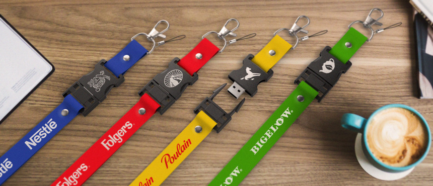 Lanyard Combo | CustomUSB Flash Drive