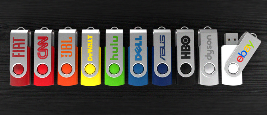 Spin | CustomUSB Flash Drive
