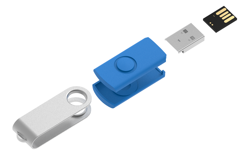 Spin Flash DriveCustomUSB