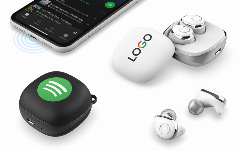 AirQuotes TWS Earbuds | CustomUSB Headphones