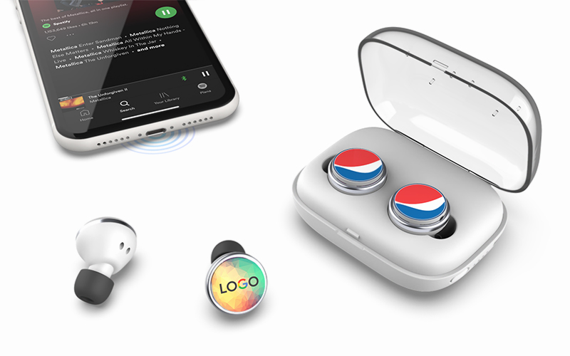 Icon TWS Earbuds | CustomUSB Headphones