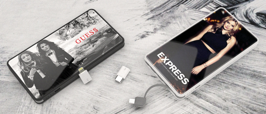 PowerTile Glass | CustomUSB Mobile Charger