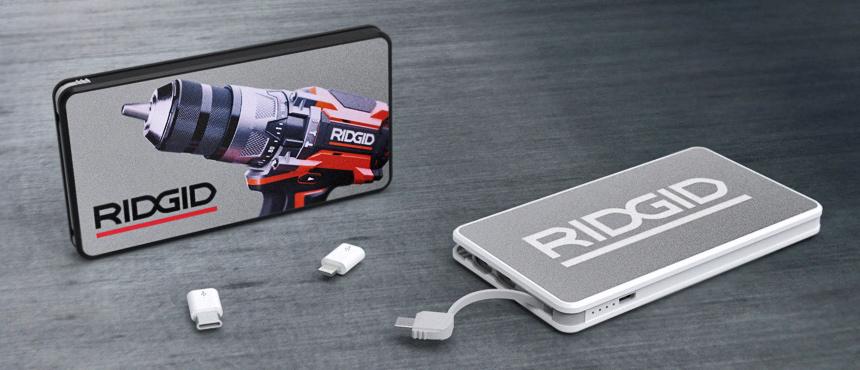 PowerTile Metal | CustomUSB Mobile Charger