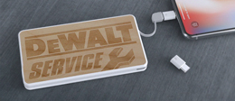 PowerTile Wood | Mobile Charger