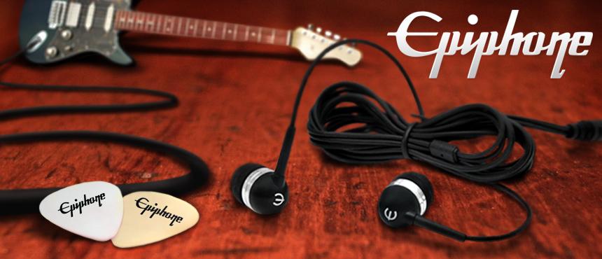 Custom Epiphone Earbud Headphones