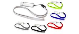 Custom USB Flash Drive Lanyards/Neck Straps