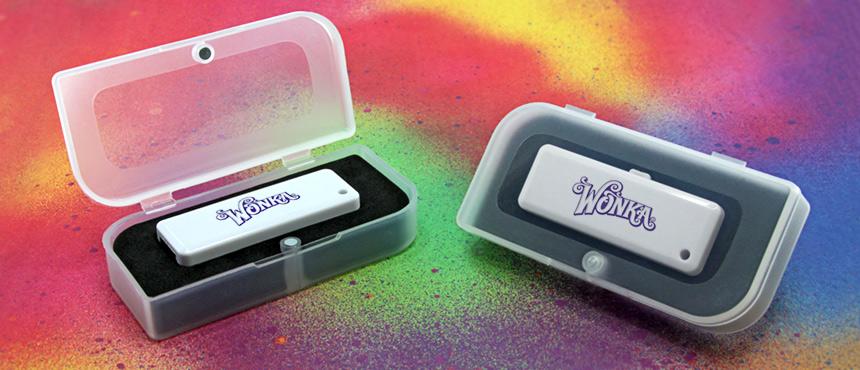Clear Plastic Magnet Box | Custom USB Packaging