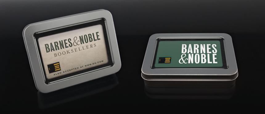 Rectangle Window Tin | Custom USB Packaging