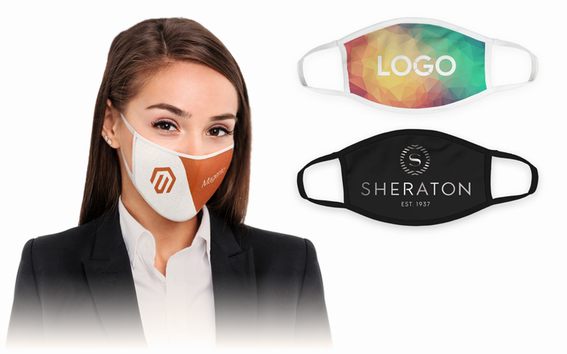 Custom Printed Cloth Face Masks | CustomUSB Personal Protective Equipment (PPE)