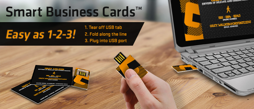 Smart Business Card Print Solution