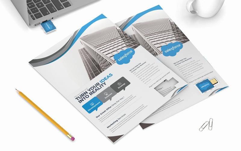 Smart Flyer | CustomUSB Print Solution