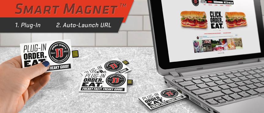 Smart Magnet   CustomUSB Print Solution