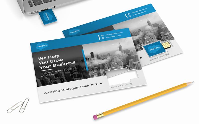 Smart Postcard | CustomUSB Print Solution