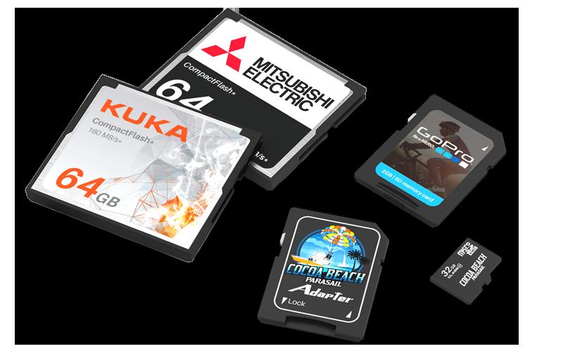 Custom Memory Cards | SD, Compact Flash, Micro SD