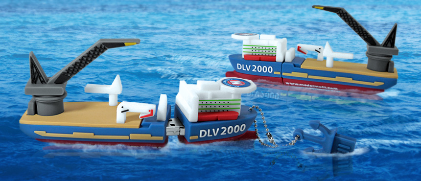 McDermott International, Inc. - DLV 2000 Replica   Custom USB Flash Drive
