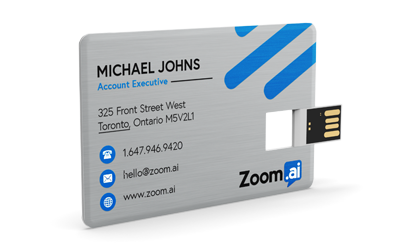 Wallet Card Metal | USB Business Card