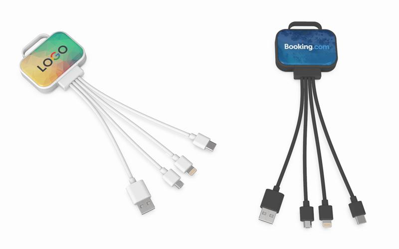 QuadroSquare Charging Cable| Custom USB Cable