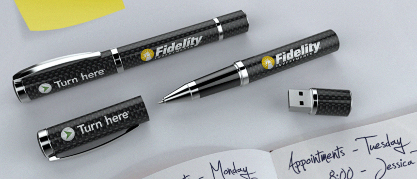 Carbon Fiber | CustomUSB Executive Pen
