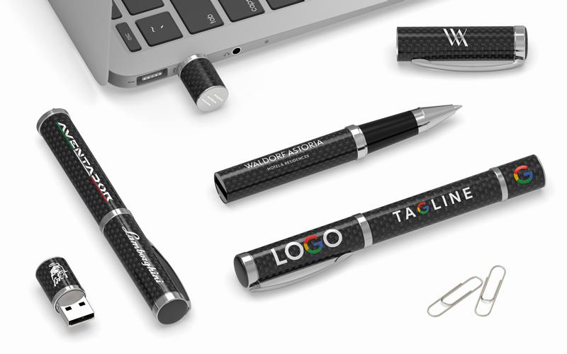 Carbon Fiber | CustomUSB Executive Pen