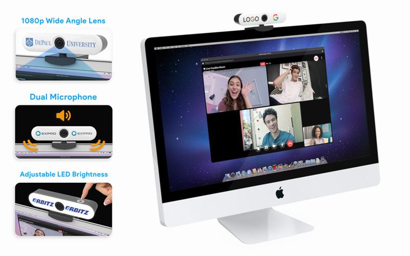 Webcam - Custom Light-up 108P Webcam | CustomUSB Webcam