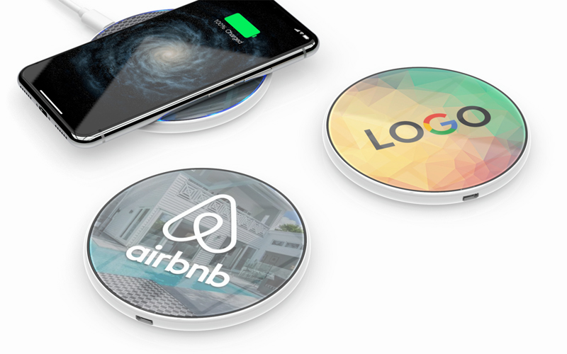 PowerCircle Glass   CustomUSB Wireless Charger