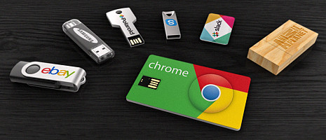 Custom USB Flash Drives in Branded With Promotional Logo