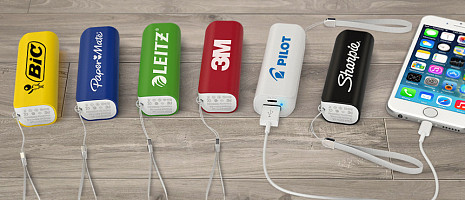 Custom Power Banks & Mobile Chargers