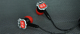 Custom Shape PVC Earbuds | Headphones