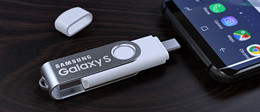 Mobile Spin USB Flash Drive
