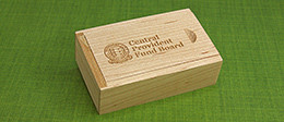 Slide Top Wooden Box | Packaging