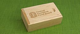 Slide Top Wooden Box | Packaging